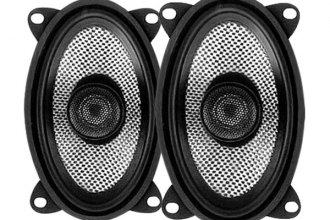 "American Bass® - 4"" x 6"" 2-Way SQ Series 100W Full Range Speakers"