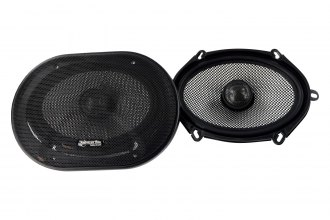 "American Bass® - 4"" x 6""/6"" x 8"" 2-Way SQ Series 150W Coaxial Speakers"