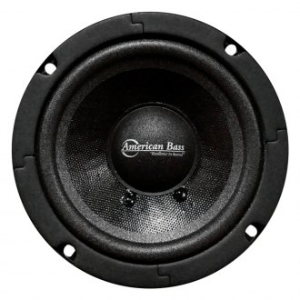 "American Bass® - 5"" SQ Series 200W Midrange Sealed Basket Speaker"