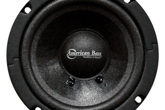 "American Bass® - 5"" SQ Series Midrange 200W Sealed Basket Speaker"