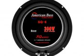 "American Bass® - 6-1/2"" SQ Series 300W Midrange Speaker"