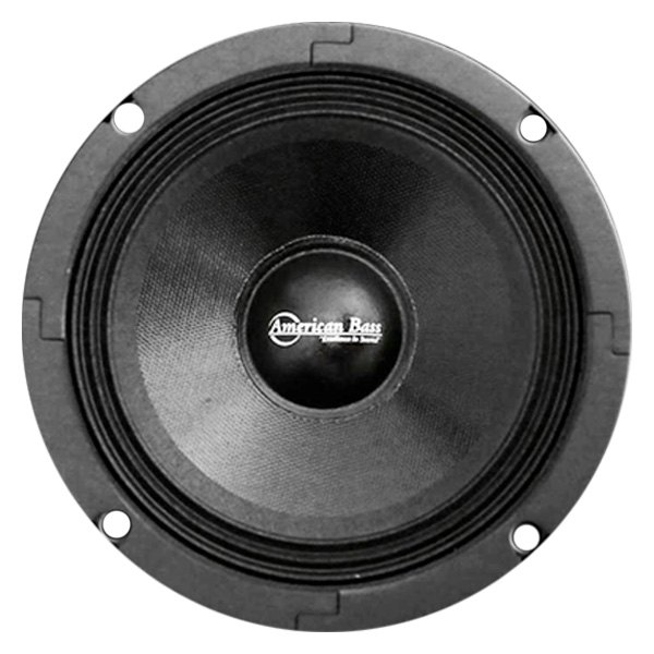 "American Bass® - 6-1/2"" SQ Series Midrange 300W Closed Back Speaker with Grill"