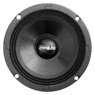 "American Bass® - 6-1/2"" SQ Series 300W Midrange Closed Back Speaker with Grill"
