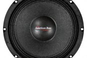 "American Bass® - 8"" SQ Series 350W Midrange Speaker with Grill"