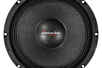 "American Bass® - 8"" SQ Series Midrange 350W Speaker with Grill"