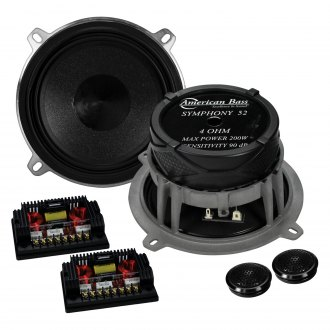 "American Bass® - 5-1/4"" 2-Way Symphony 200W Component Speakers"