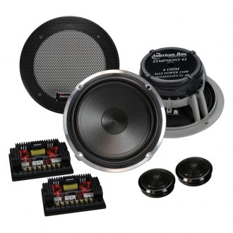 "American Bass® - 6-1/2"" 2-Way Symphony 250W Component Speakers"