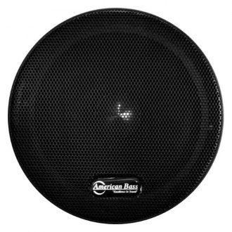 "American Bass® - 6-1/2"" VFL Series Midrange 350W 8 Ohm Coated Paper Cone Speaker with Grill"