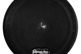 "American Bass® - 6-1/2"" VFL Series Midrange 350W 8Ohm Coated Paper Cone Speakers with Grill"
