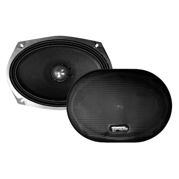 "American Bass® - 6""x9"" VFL Series Midrange 350W 8Ohm Treated Paper Cone Speaker with Grill"