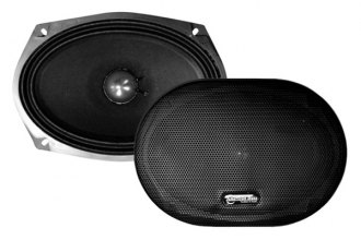 "American Bass® - 6"" x 9"" VFL Series Midrange 350W 8 Ohm Treated Paper Cone Speaker with Grill"