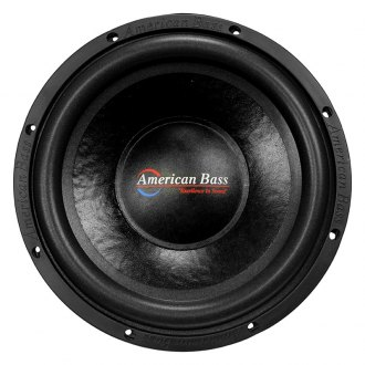 "American Bass® - 10"" DX Series 600W 4 Ohm SVC Subwoofer"