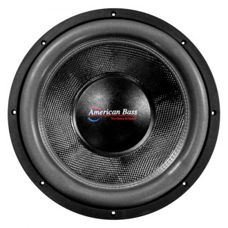 "American Bass® - 12"" HD Series 4000W 1 Ohm DVC Subwoofer"