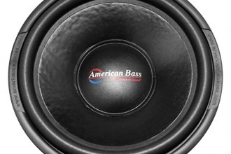 "American Bass® - 15"" TNT Series 1600W DVC Subwoofer"