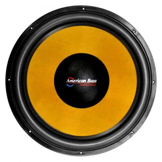 "American Bass® - 12"" VFL Competition Series 4000W 1 Ohm DVC Subwoofer"