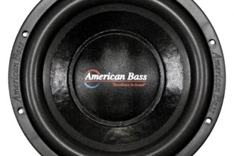 "American Bass® - 10"" XD Series 900W 2 Ohm DVC Subwoofer"