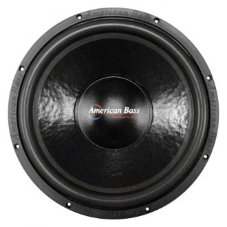 "American Bass® - 15"" XD Series 1400W 2 Ohm DVC Subwoofer"