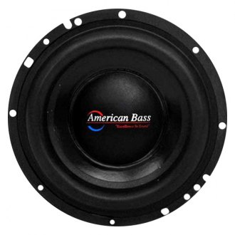 "American Bass® - 6-1/2"" XD Series 300W 4 Ohm DVC Subwoofer"