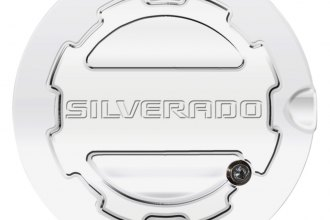 ABD® - Locking Fuel Door with Silverado Logo