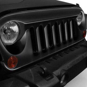 American Fastbacks® - 1-Pc Patriot Style Black Main Grille