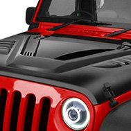 American Fastbacks® — Jeep Black Hood