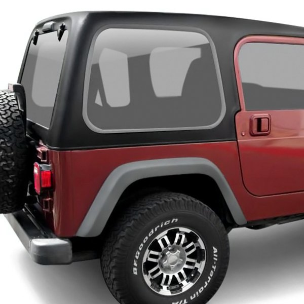 american fastbacks jeep wrangler 2007 2017 solid square back hard top. Cars Review. Best American Auto & Cars Review