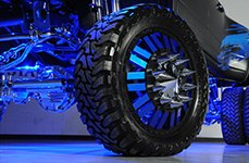 AMERICAN FORCE® - E-CLIPS DUALLY Wheels on Dodge Ram 3500