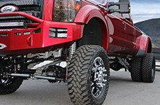 AMERICAN FORCE® - WEAPON Flat Black on Ford F-450
