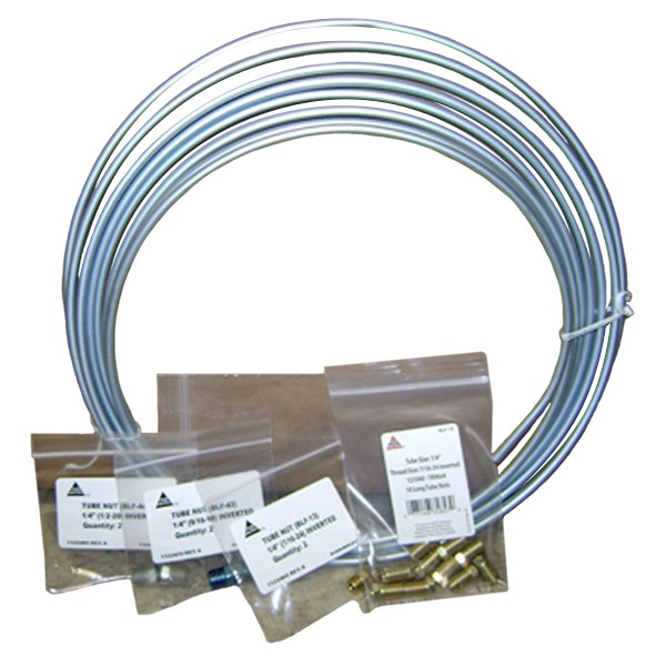 AGS® - Steel Brake Line Coil and Tube Nut Kit