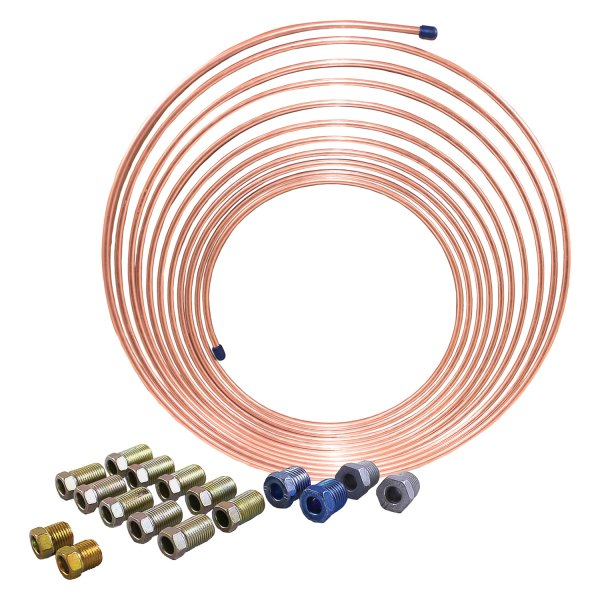 AGS® - NiCopp Brake Line Coil and Tube Nut Kit
