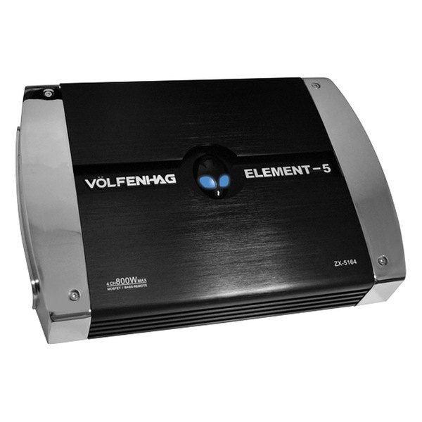 American Hi Fi® - Volfenhag™ Series Class AB 4-Channel 800W Amplifier
