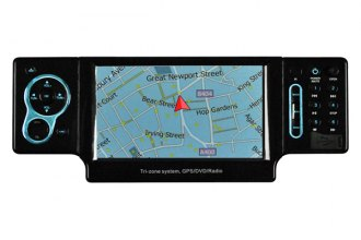 "American Hi Fi® - Performance Teknique™ 4.2"" Single DIN DVD/CD/MP3 USB/SD GPS Stereo Receiver"