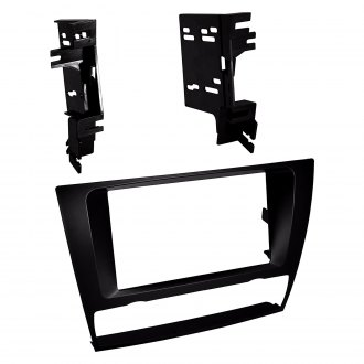 American International® - Double DIN Black Stereo Dash Kit