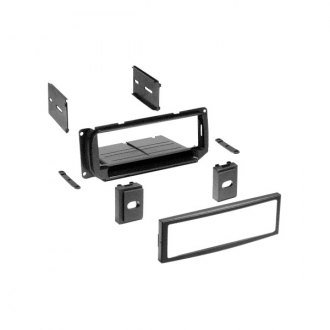 American International® - Single DIN Black Stereo Dash Kit