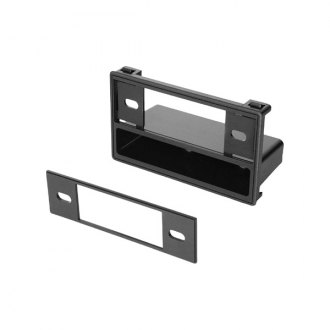 American International® - Single DIN Black Stereo Dash Kit with Pocket