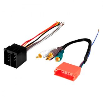 American International® - Aftermarket Radio Wiring Harness with OEM Plug and Amplifier Integration