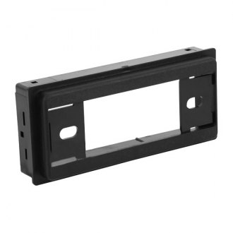 American International® - Single DIN Black Stereo Dash Kit with Factory Textured ABS Plastic