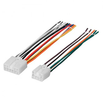 American International® - Wiring Harness with OEM Radio Plugs