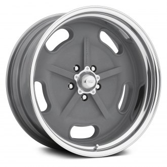 AMERICAN RACING® - VN470 SALT FLAT SPECIAL 2PC Gray with Polished Lip