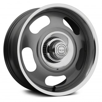 AMERICAN RACING® - VN506 RALLY 1PC Mag Gray Center with Polished Lip