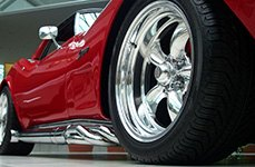 AMERICAN RACING® - TORQ THRUST D Chrome on Chevy Corvette