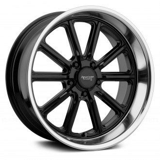 AMERICAN RACING® - VN507 RODDER 1PC Gloss Black with Diamond Cut Lip