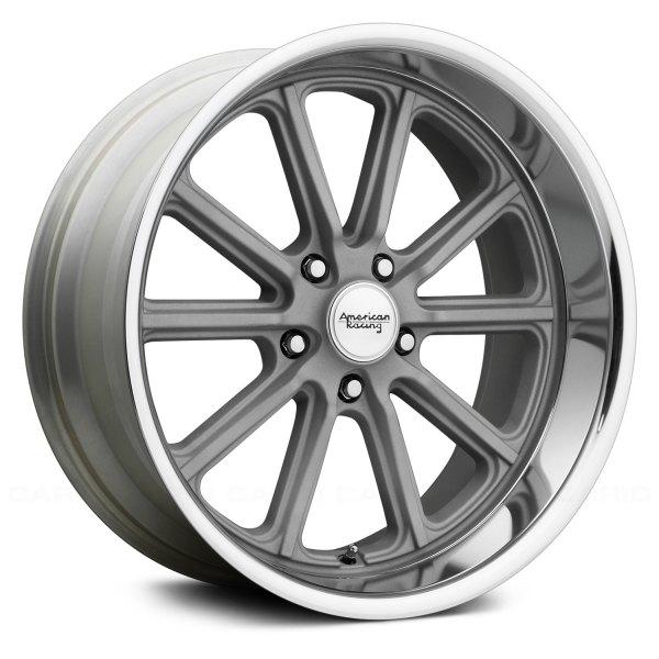 American Racing 174 Vn507 Wheels Vintage Silver With