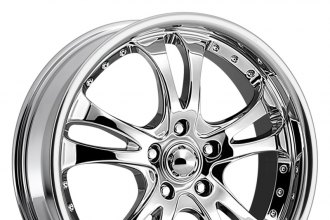 "AMERICAN RACING® - CASINO Chrome (16"" x 7"", +42 Offset, 4x100 Bolt Pattern, 72.6mm Hub)"