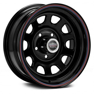 AMERICAN RACING� - AR767 Gloss Black with Red and Blue Stripe