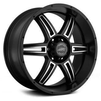 AMERICAN RACING® - AR890 Satin Black with Machined Face