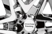 AMERICAN RACING® - MAINLINE Chrome Close-Up