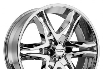 "AMERICAN RACING® - MAINLINE Chrome (18"" x 8.5"", +30 Offset, 6x135 Bolt Pattern, 87.1mm Hub)"