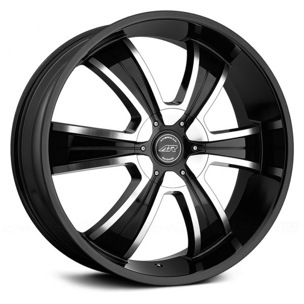 AMERICAN RACING® - AR894 Gloss Black with Machined Face