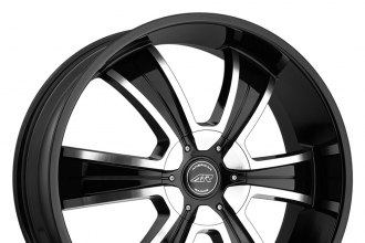 "AMERICAN RACING® - AR894 Gloss Black with Machined Face (18"" x 8"", +15 Offset, 6x139.7 Bolt Pattern, 106.25mm Hub)"